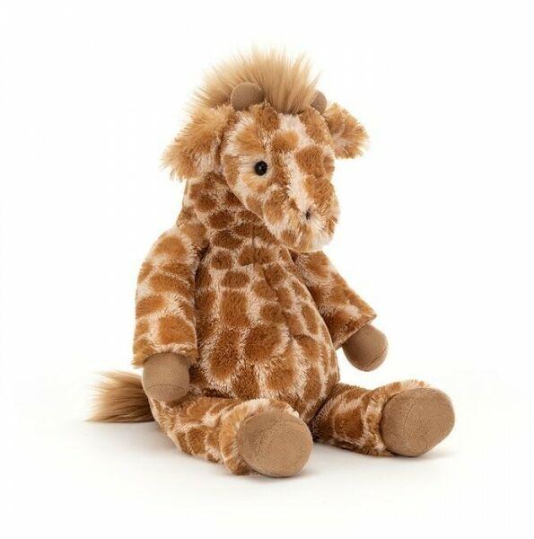 JellyCat - Maskotka Przytulanka Lallagie Giraffe - Lallagie Żyrafka 39x13 cm