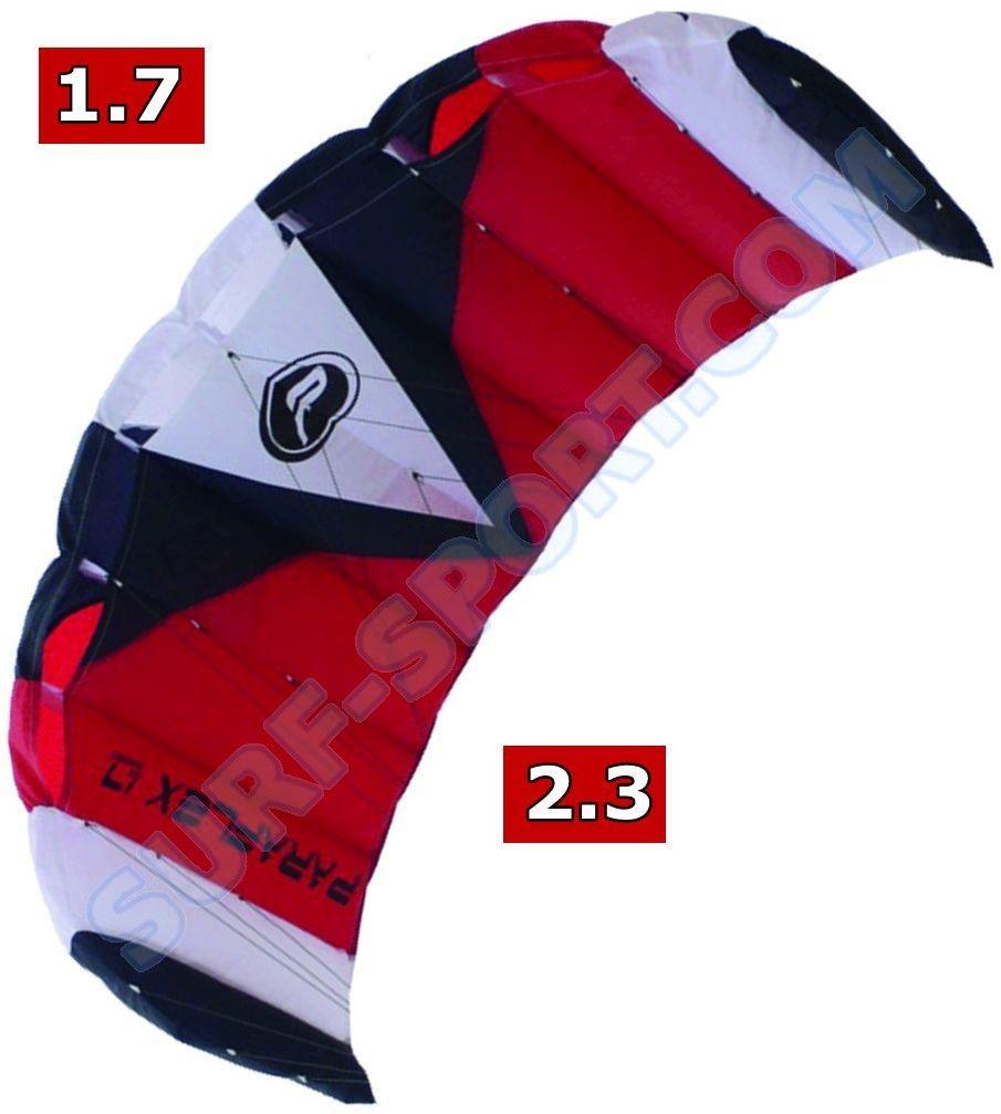 Latawiec Treningowy Z Barem Wolkenstürmer Paraflex Sport 2020 Red-White