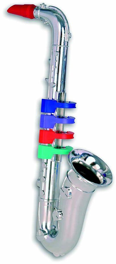 Bontempi Saksofon 32 3931 z 4 kolorowymi przyciskami/nuty