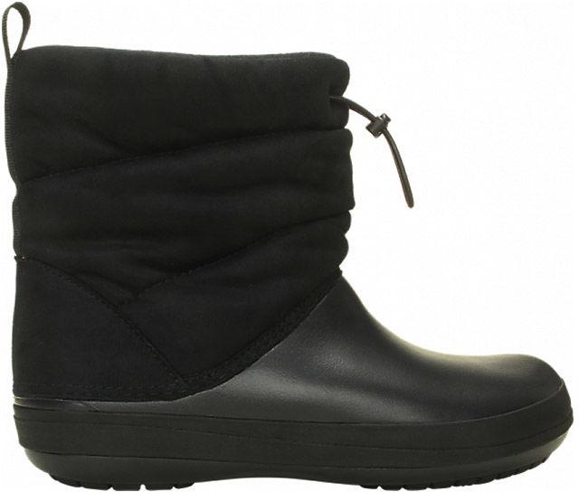 Śniegowce damskie CROCS Crocband Puff Boot czarne205858001