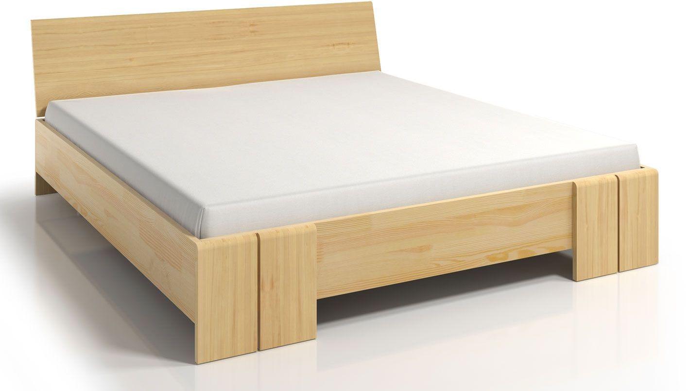 Drewniane łóżko z pojemnikiem Verlos 5X - 5 rozmiarów