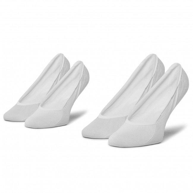 Zestaw 2 par stopek damskich TOMMY HILFIGER - 353007001 White 300