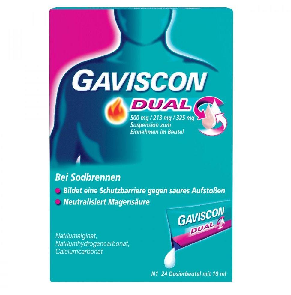 Gaviscon Dual saszetki