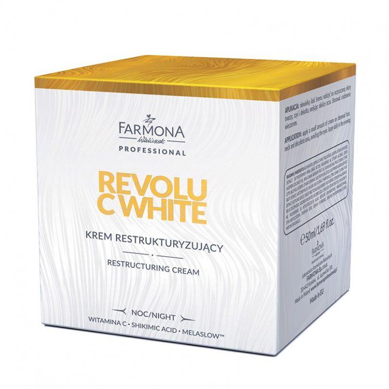 REVOLU C WHITE Krem restrukturyzujacy 50ml (noc)