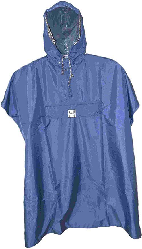 Hock Rain Care ponczo przeciwdeszczowe dla dorosłych, niebieskie, XXL