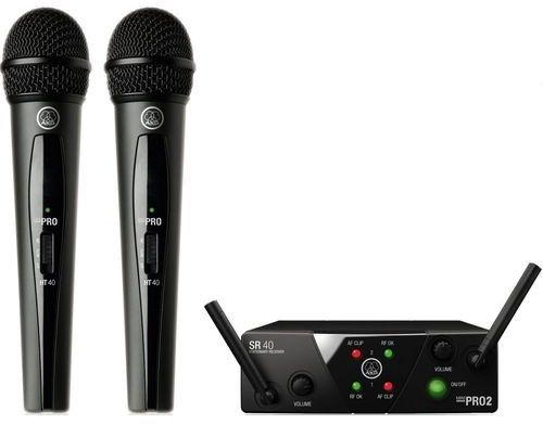 AKG WMS40 MINI Dual Vocal - US45 A/C (660.700 MHz - 662.300 MHz)