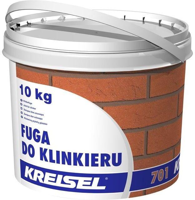 Fuga do klinkieru Kreisel szara 10 kg