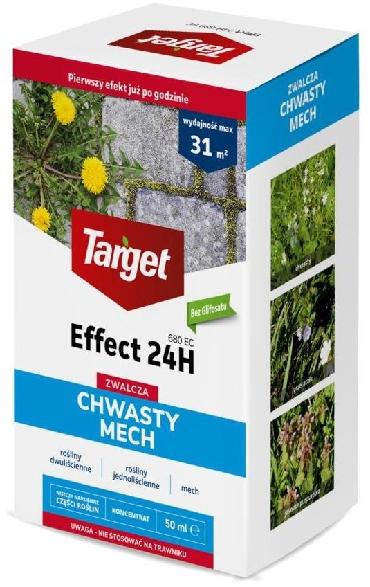 Środek na chwasty i mech Effect 24 H 50 ml