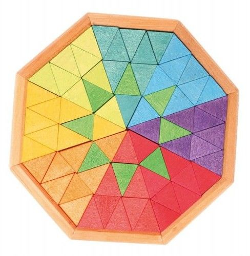Grimm''s - Puzzle Wpisane w Ośmiokąt 3+, Grimm''s