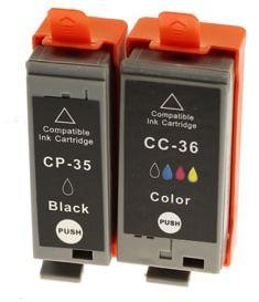 Tusze Zamienniki PGI-35 + CLI-36 do Canon (komplet) - DARMOWA DOSTAWA w 24h