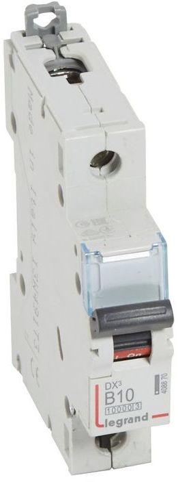 Wyłącznik nadprądowy 1P B 10A 10kA S311 DX3 408870