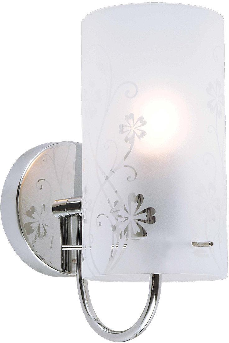 Italux kinkiet lampa ścienna Valve MBM1672/1 szkło
