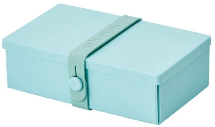 No.01 składany lunchbox Uhmm - mint green / mint - mint green/mint