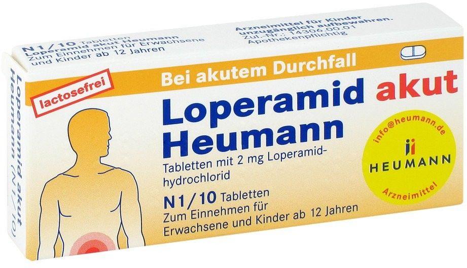 Loperamid akut Heumann Tabl.