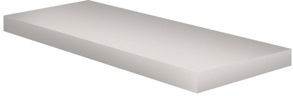 Półka meblowa 80 x 20 x 1,8 cm biała połysk