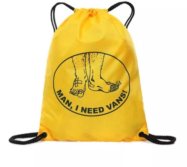 worek na plecy VANS - League Bench Bag Lemon Chrome (85W)