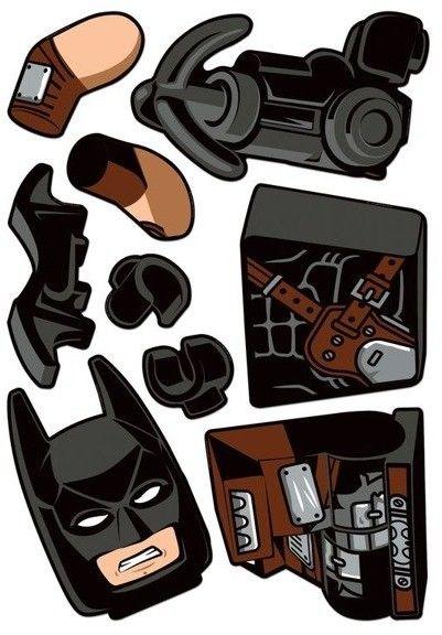 LEGO 52372 Układanka Batman