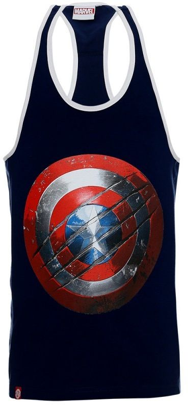 Poundout tank top Stringer Marvel Kapitan Ameryka