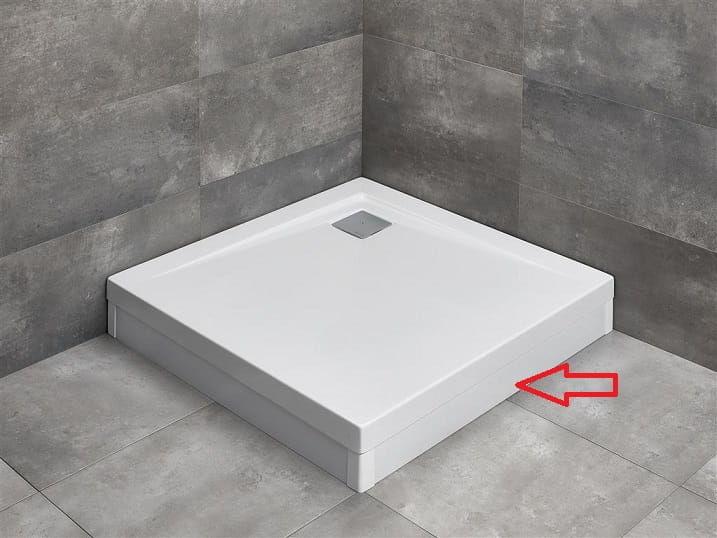 RADAWAY panel biały 80 cm do brodzika Argos C lub D z obudową 001-510074004