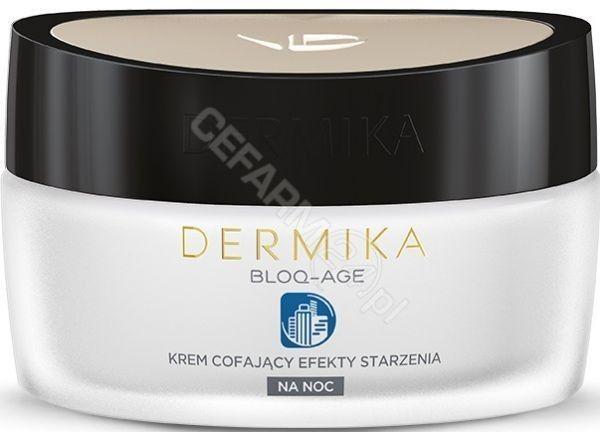 Dermika Bloq-Age Krem Cofający Efekty Starzenia na noc 50 ml