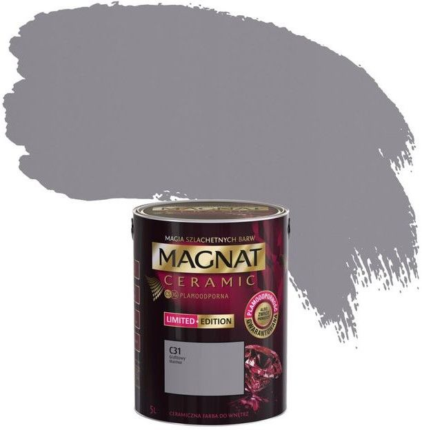 Farba Magnat Ceramic grafitowy marmur 5 l