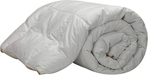 Pikolin Home - Kołdra puchowa / wypełnienie z puchem gęsim 98%, satynowa poszewka 100% bawełna, 200 gr/m  łóżko 100/105 180 x 220 cm