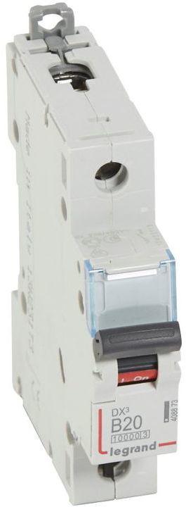 Wyłącznik nadprądowy 1P B 20A 10kA S311 DX3 408873