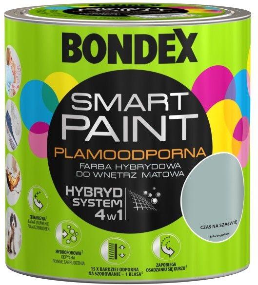 Farba hybrydowa Bondex Smart Paint czas na szałwię 2,5 l