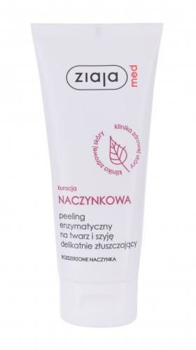 Ziaja Med Capillary Treatment Face Enzym peeling 75 ml dla kobiet