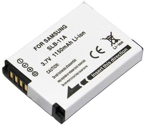 Amsahr cyfrowy aparat wymienny i aparat fotograficzny bateria do Samsung SLB-11A, CL65, CL80