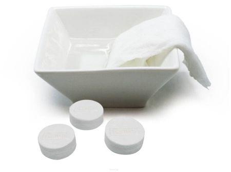 Ręczniki w tabletkach cytrynowy aromat Nerthus