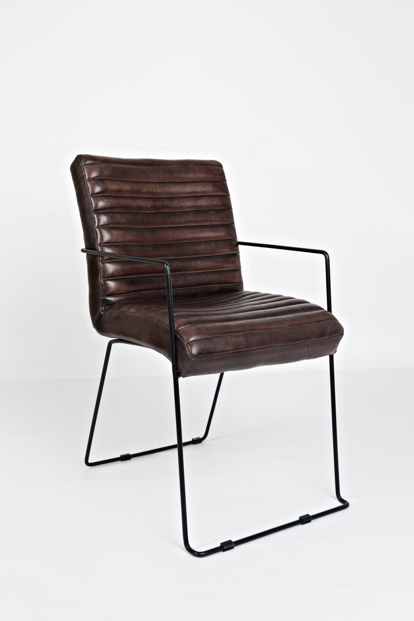 AV1781-WYATT Krzesło tapicerowane Avola Chestnut