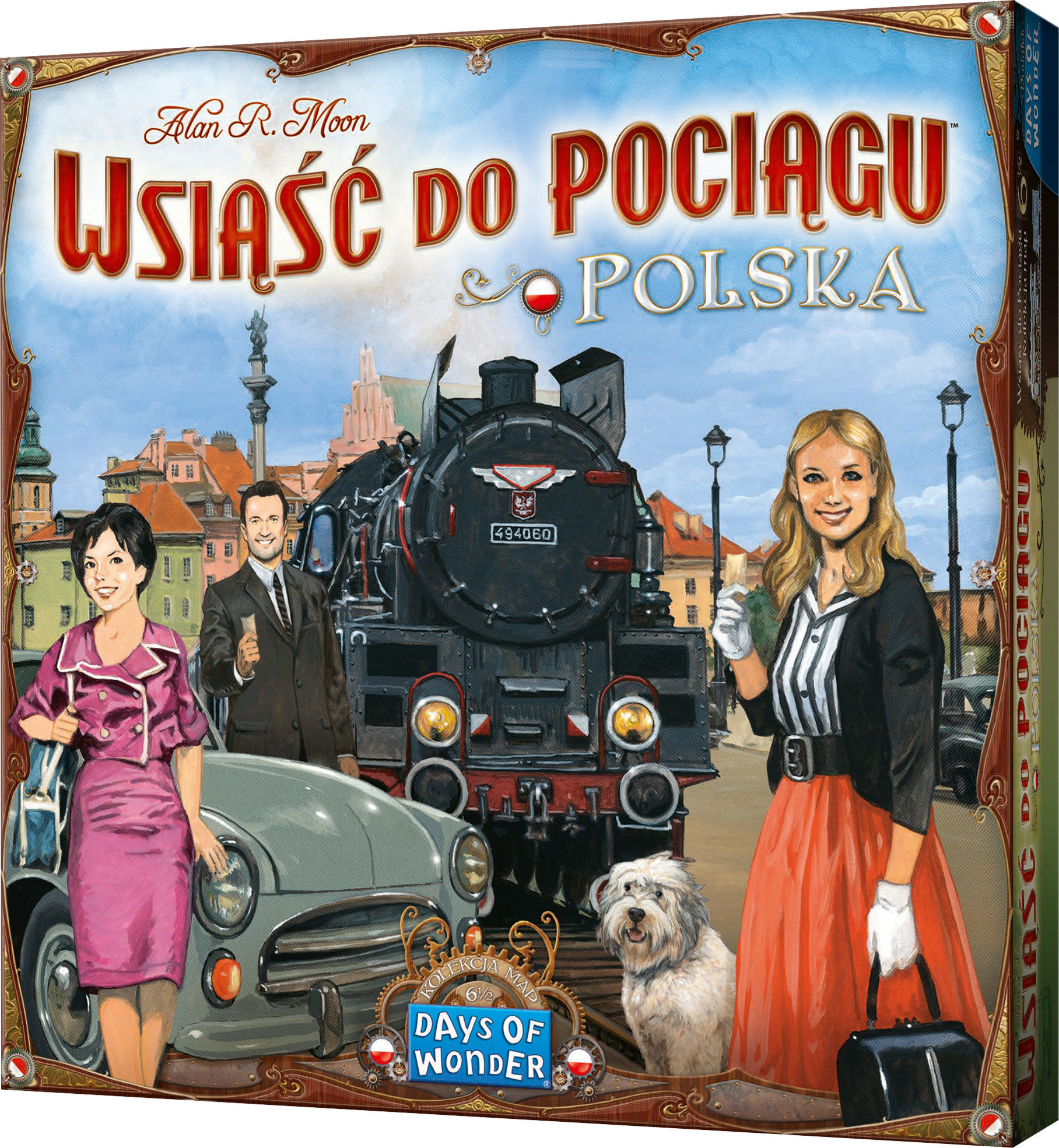 Wsiąść do Pociągu: Polska - Kolekcja Map 6,5
