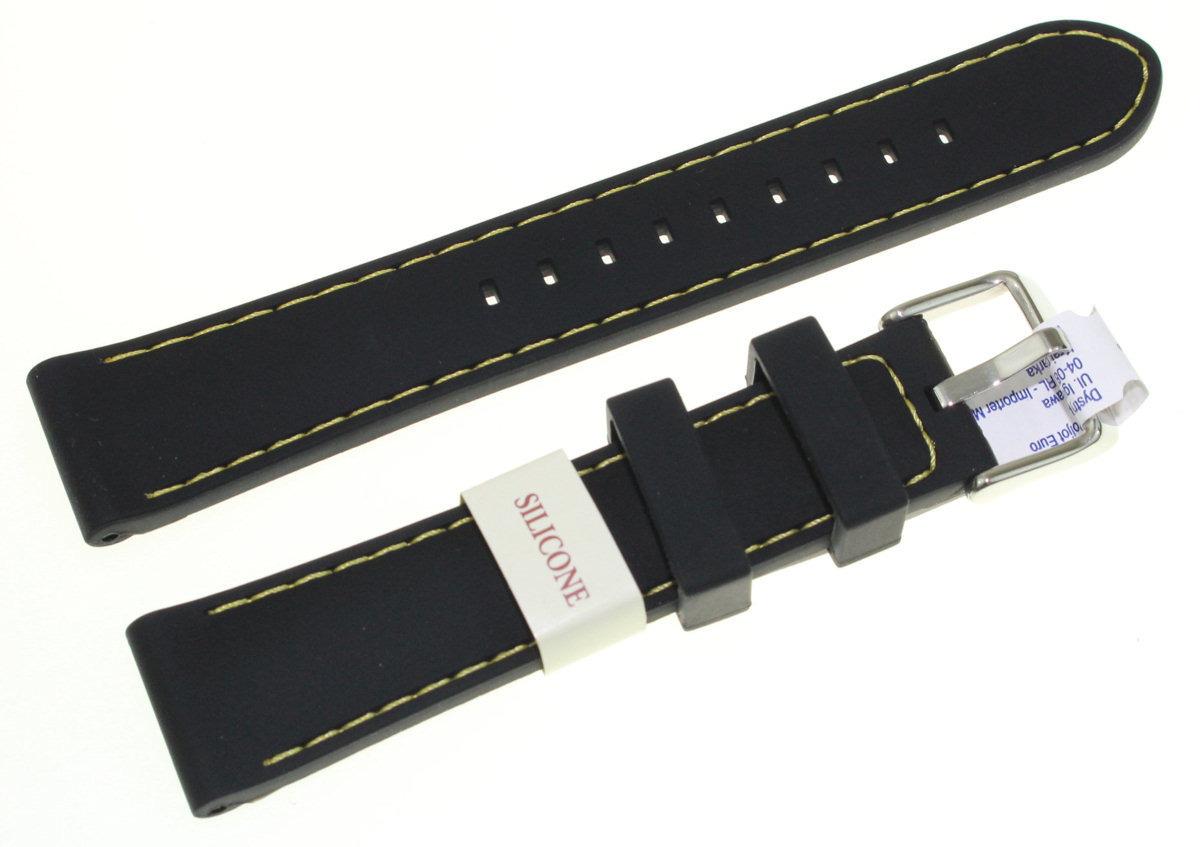 Silikonowy pasek do zegarka 20 mm Morellato A01U3844187897CR20