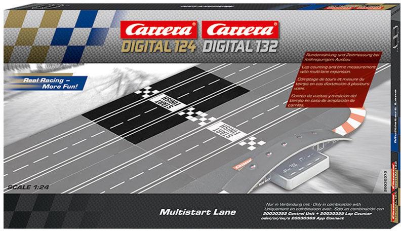 Carrera DIGITAL 132 - Multistart Lane 30370