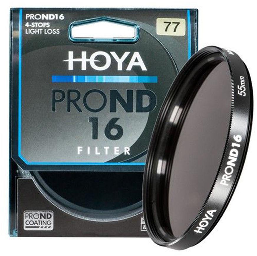 Filtr szary Hoya PRO ND16 58mm
