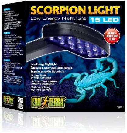 Exo-Terra Scorpion Light - nocna lampa LED