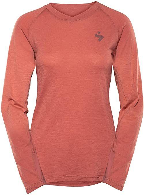 Sweet Protection Damska koszulka Hunter Merino Ls Jersey W Jersey różowy Rosewood L