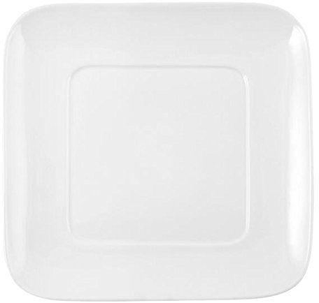 Hotelware półmisek do serwowania, kwadratowy, 30,5 x 30,5 cm, porcelana, biały