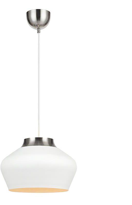 Lampa wisząca Kom 107379 Markslojd biała oprawa w stylu design