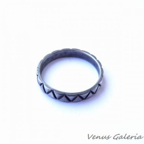 Obrączka srebrna- Venus IV