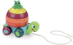 Vilac Vilac4653 zabawka do ciągnięcia żółwia, wielokolorowa
