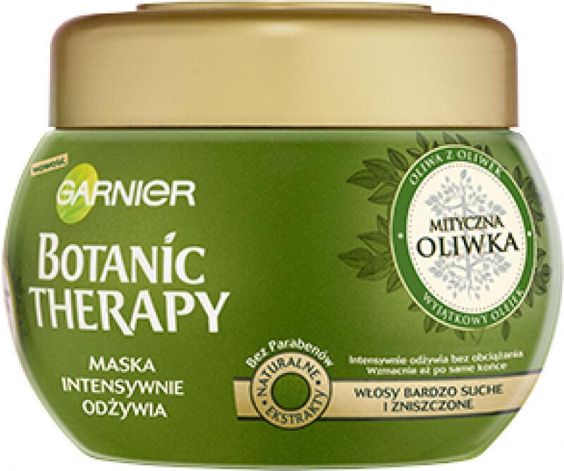 GARNIER - BOTANIC THERAPY - Odżywcza maska do włosów bardzo suchych i zniszczonych - Mityczna Oliwka - 300 ml