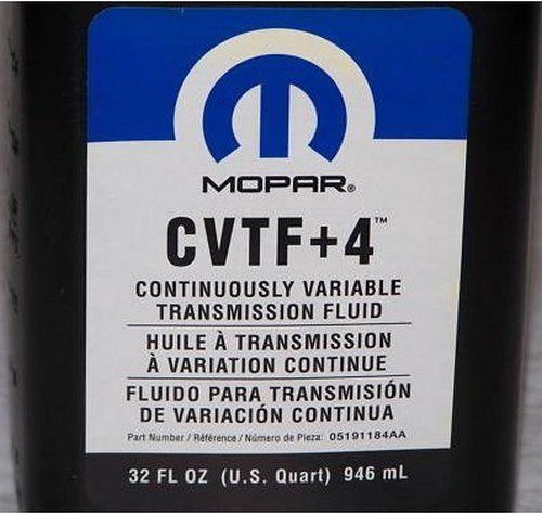 Olej do bezstopniowej skrzyni biegów MOPAR CVTF +4