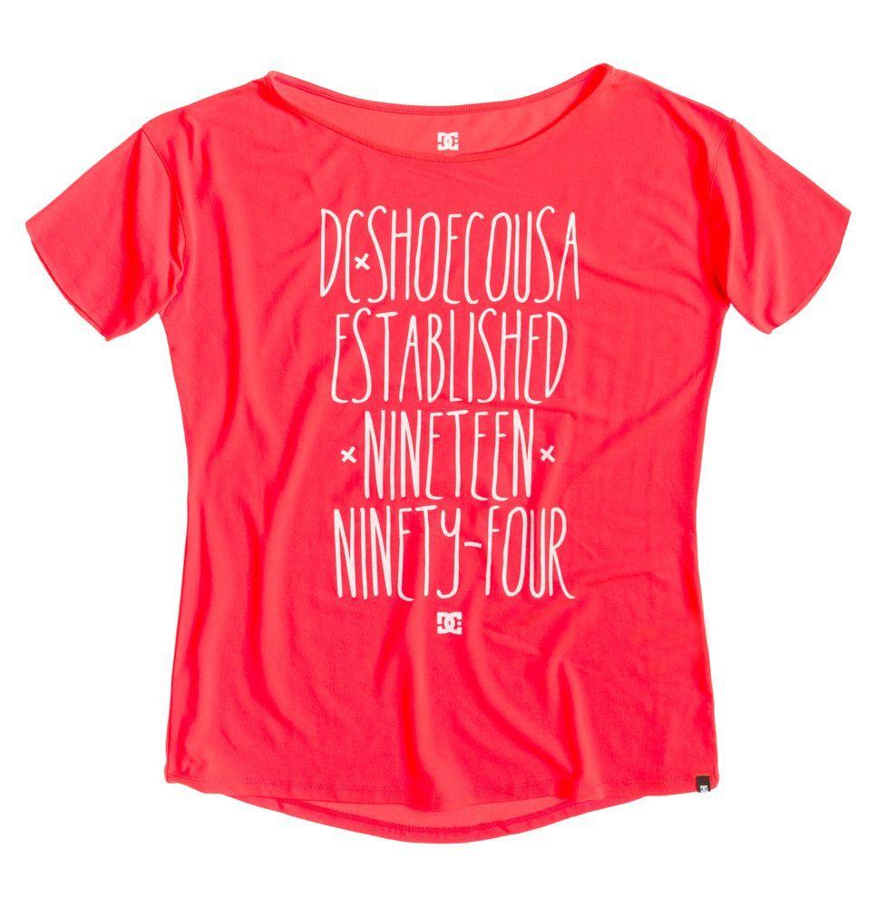 t-shirt damski DC TERREL J TEES RPH0