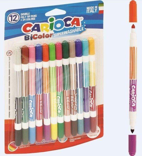 Pisaki BiColor 12/24 kolory CARIOCA