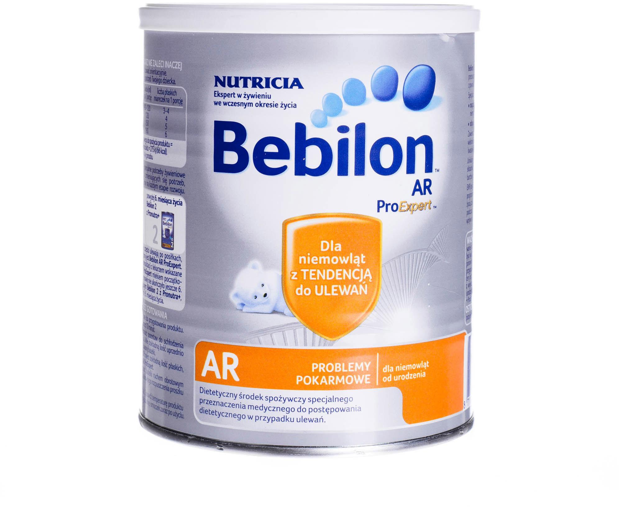Bebilon AR mleko modyfikowane od urodzenia 400 g