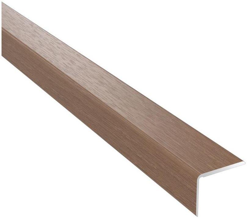 Profil podłogowy schodowy No.17 Dąb corona 25 x 20 x 1200 mm Artens