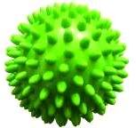 QMED piłka jeżyk zielona 7 cm