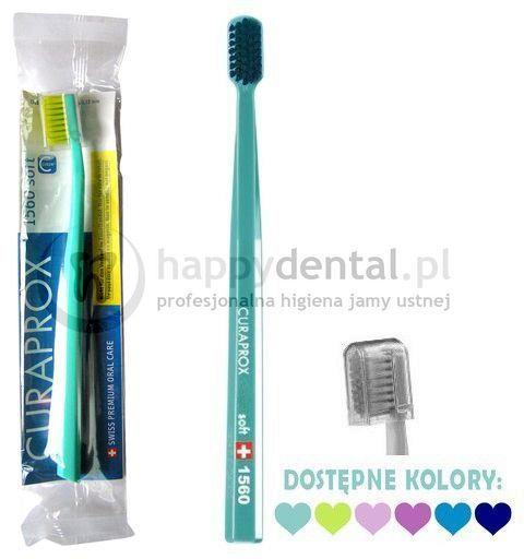 CURAPROX CS 1560 Soft szczoteczka do zębów - CELLO